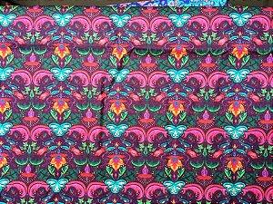 Tecido para Patchwork Estampa Digital Bondi (0,50m x 1,40m)