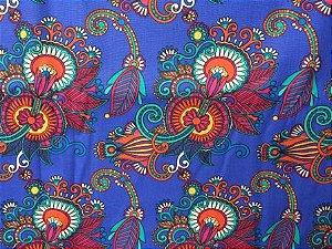 Tecido para Patchwork Estampa Digital Mantevis (0,50m x 1,40m)