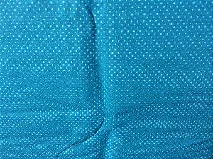Tecido para Patchwork PO Poás Azul (0,50m x 1,50m)