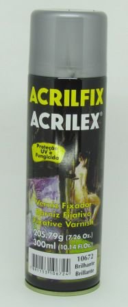 Verniz Spray Acrilfix Brilhante 300ml Acrilex