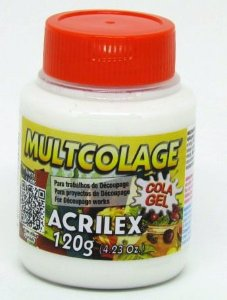 Cola Gel Multcolage 120g Acrilex