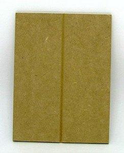 Placa Pallet em MDF (6mm) 20cm x 15cm