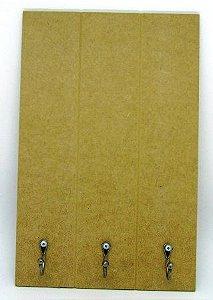 Placa Pallet em MDF (6mm) 40cm x 26cm