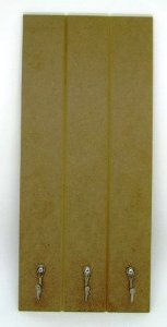 Placa Pallet em MDF (6mm) 45cm x 20cm