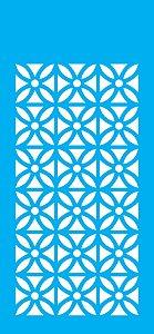 Stencil 07cm x 15cm Estampa Azulejo (OPA1953)
