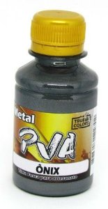 Tinta PVA Metal 100ml Onix True Colors