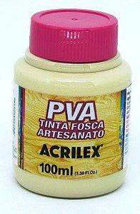 Tinta PVA Fosca 100ml Areia Acrilex