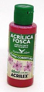 Tinta Acrilica Fosca 60ml Vermelho Escarlate Acrilex
