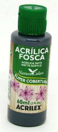 Tinta Acrilica Fosca 60ml Grafite Acrilex