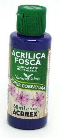 Tinta Acrilica Fosca 60ml Violeta Cobalto Acrilex