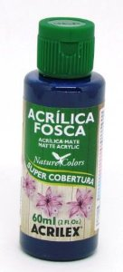 Tinta Acrilica Fosca 60ml Azul Marinho Acrilex