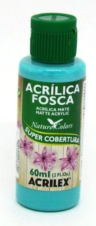 Tinta Acrilica Fosca 60ml Turquesa Acrilex