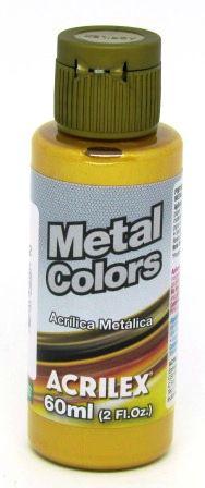 Tinta Metal Colors 60ml Ouro Acrilex