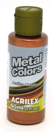 Tinta Metal Colors 60ml Cobre Acrilex