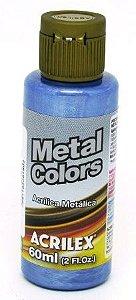 Tinta Metal Colors 60ml Azul Mar Acrilex