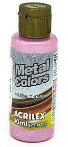 Tinta Metal Colors 60ml Rosa Acrilex