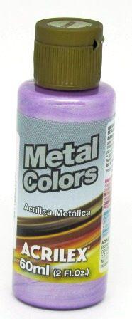 Tinta Metal Colors 60ml Magenta Acrilex