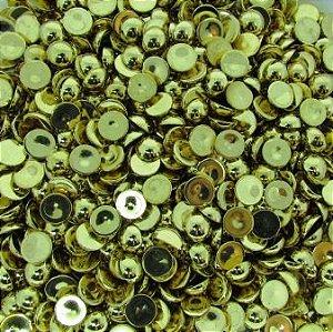 Chaton Dourado Liso 10mm (10 unidades)