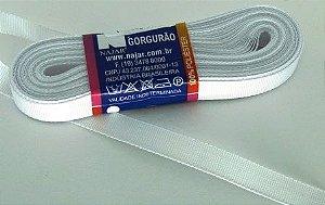 Fita de Gorgurão 10mm Branca (1 metro)