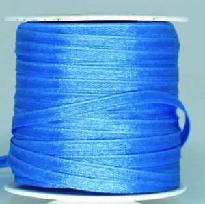 Fita Cetim 4mm Azul Celeste (1 metro)
