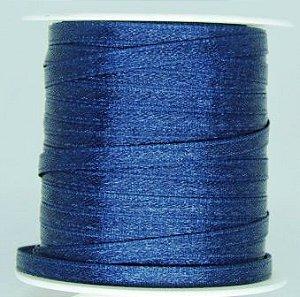 Fita Cetim 4mm Azul Marinho (10 metros)