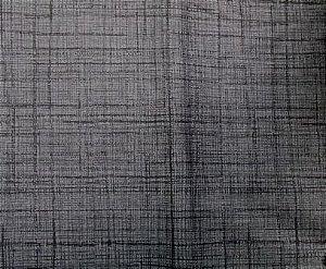 Tecido para Patchwork Textura Preto com Cinza (0,50m x 1,50m)