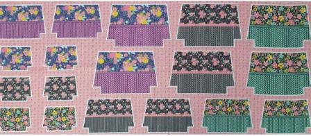 Tecido para Patchwork Kit Necessaire Fácil by Bia Feltz (0,62m x 1,50m)