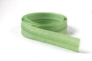 Zíper Fino Verde Claro 2,5cm Coats
