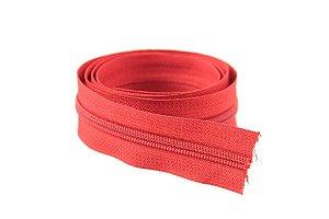 Zíper Grosso Vermelho 3cm Coats