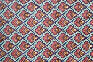 Tecido para Patchwork Estampa Digital Arabic (0,50m x 1,40m)