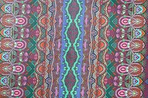 Tecido para Patchwork Estampa Digital Up (0,50m x 1,40m)