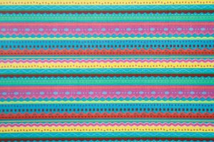 Tecido para Patchwork Estampa Digital Bordado Inglês (0,50m x 1,50m)