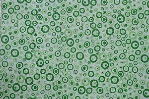 Tecido para Patchwork Poás Verde (0,50m x 1,50m)