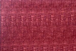 Tecido para Patchwork Textura Vermelho (0,50m x 1,50m)