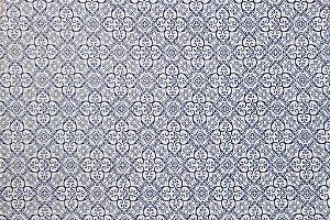 Tecido para Patchwork Azulejo 3 (0,50m x 1,50m)
