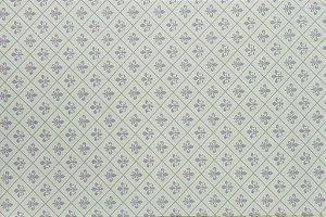 Tecido para Patchwork Flor de Lis Amarelo (0,50m x 1,50m)