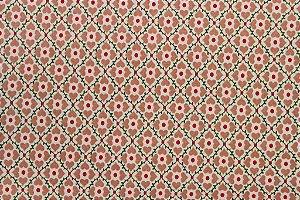 Tecido para Patchwork Coração Rosa (0,50m x 1,50m)