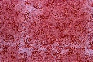 Tecido para Patchwork Arabesco Vermelho (0,50m x 1,50m)