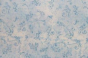 Tecido para Patchwork Arabesco Azul Claro (0,50m x 1,50m)