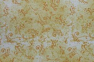Tecido para Patchwork Arabesco Amarelo Claro (0,50m x 1,50m)