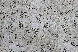 Tecido para Patchwork Arabesco Cinza (0,50m x 1,50m)
