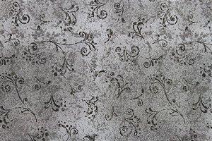 Tecido para Patchwork Arabesco Cinza Médio (0,50m x 1,50m)