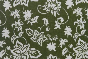 Tecido para Patchwork Vintage Verde (0,50m x 1,50m)