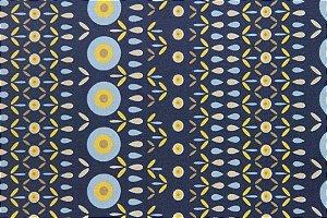 Tecido para Patchwork Algarve Azul (0,50m x 1,50m)
