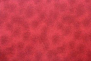 Tecido para Patchwork Textura Poeira Vermelho (0,50m x 1,50m)