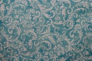 Tecido para Patchwork Arabesco Branco (0,50m x 1,50m)