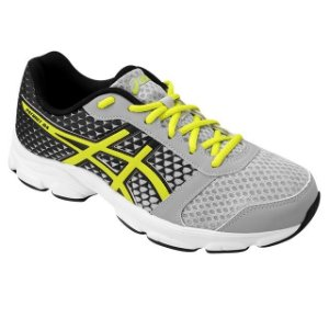 Tenis Asics Patriot 8 A Silver  grey/lime/blk