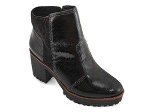 Bota Ankle Boot Moleca 5322.100 - Preto
