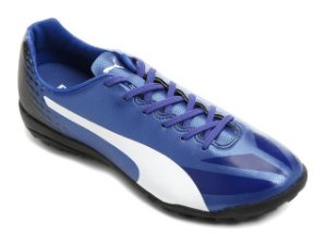 Chuteira Society Puma Evospeed 17.4 Tt Adulto - Azul