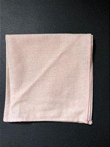 Lenço de Bolso - Linho Rosa